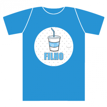 T-shirt kids extra BEER menino