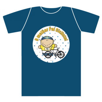 T-shirt adulto CICLISTA