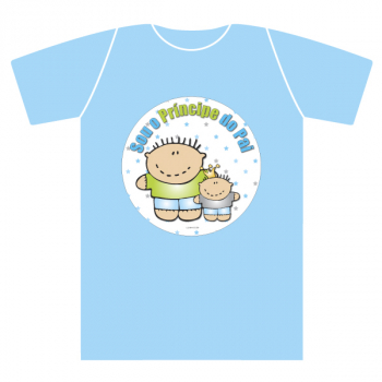 T-shirt kids extra PRÍNCIPES menino