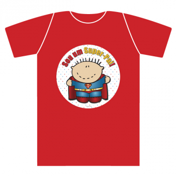 T-shirt adulto SUPER-PAI